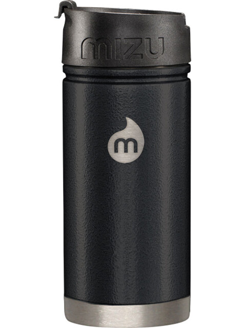 MIZU V5 Insulated Bottle with Coffee-Lid 500ml Black Hammer Paint